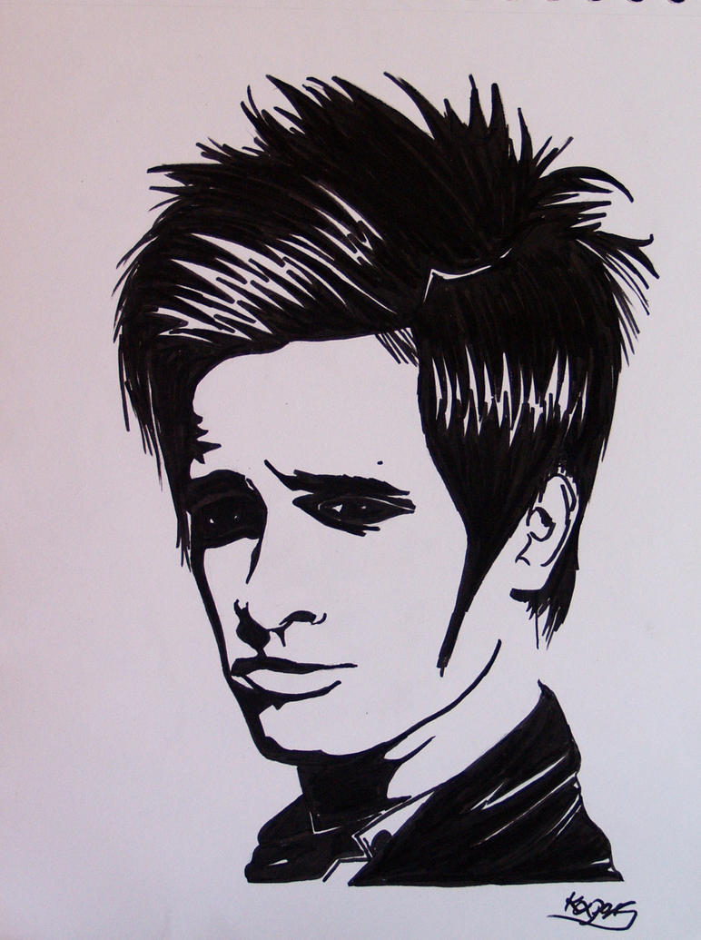 Tremendous Brendon Urie Drawing Pictures To Pin On Pinterest Pinsdaddy Short Hairstyles For Black Women Fulllsitofus