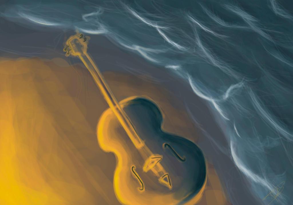 ViolonChelo Color Practice Quick Color Sketch by Onnessa