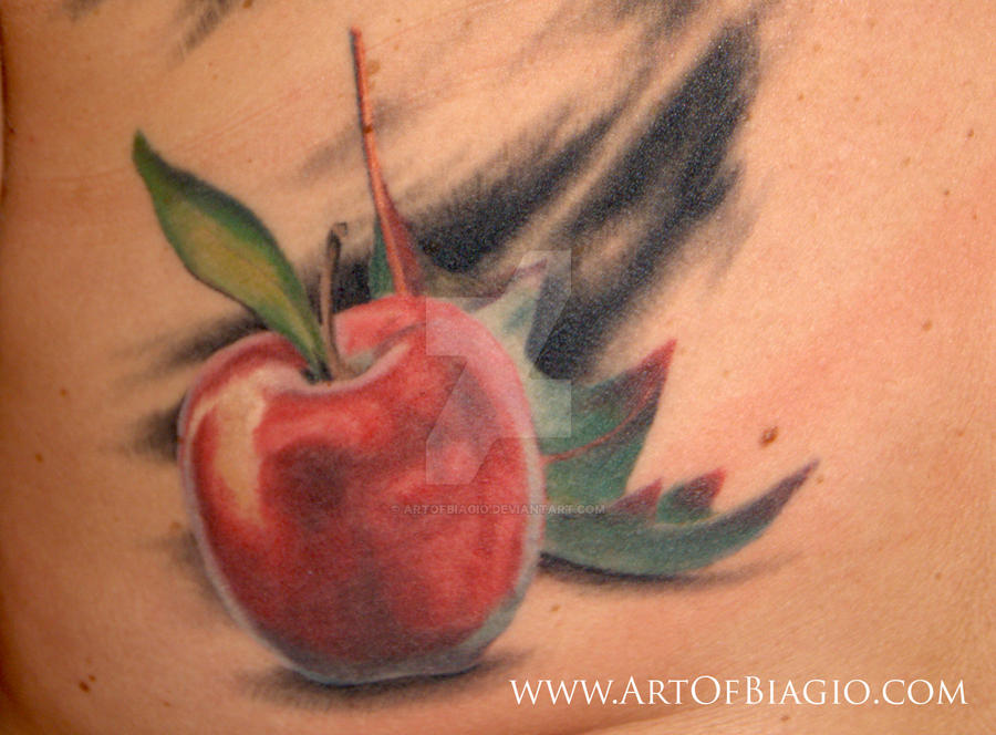 Teacher's Apple by artofbiagio