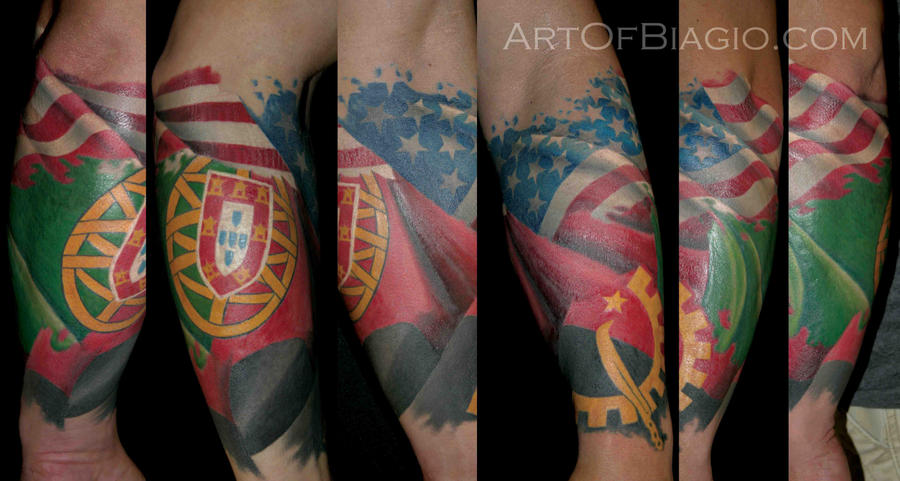 USA Angola Portugal by artofbiagio on DeviantArt