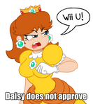 Daisy does not approve