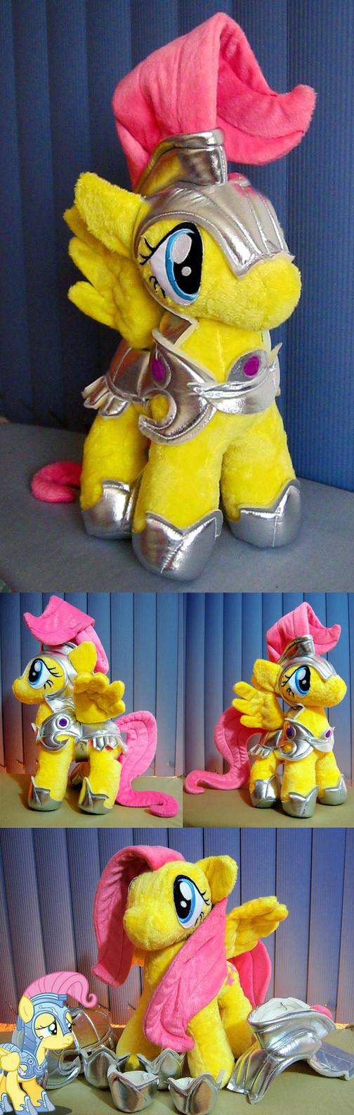 Fluttershy in Shining Armor OvO by Furboz