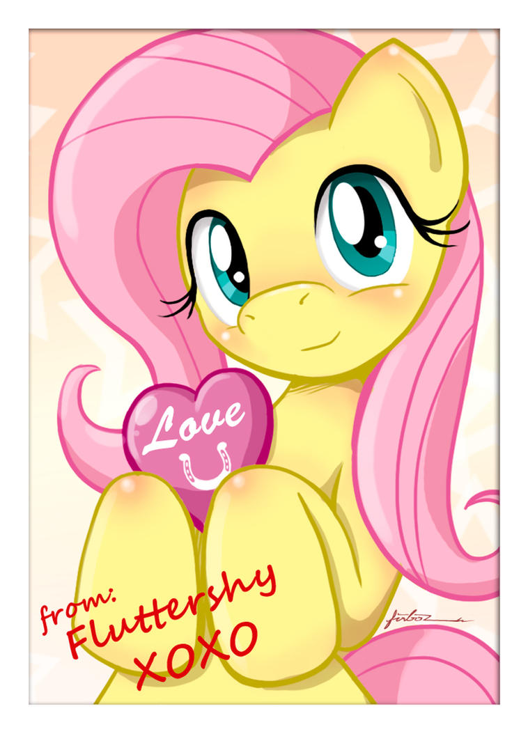 Fluttershy Hearts and Hooves by Furboz