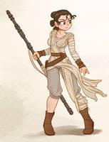Rey (Solo?) by Furboz