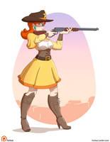 Daisy CowGirl by Furboz