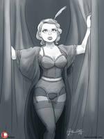 Pinuptober 19: Cabaret by Furboz