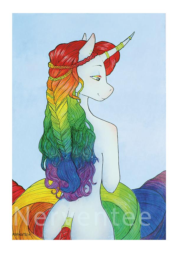 Rainbow Unicorn [EF] by Nerventee
