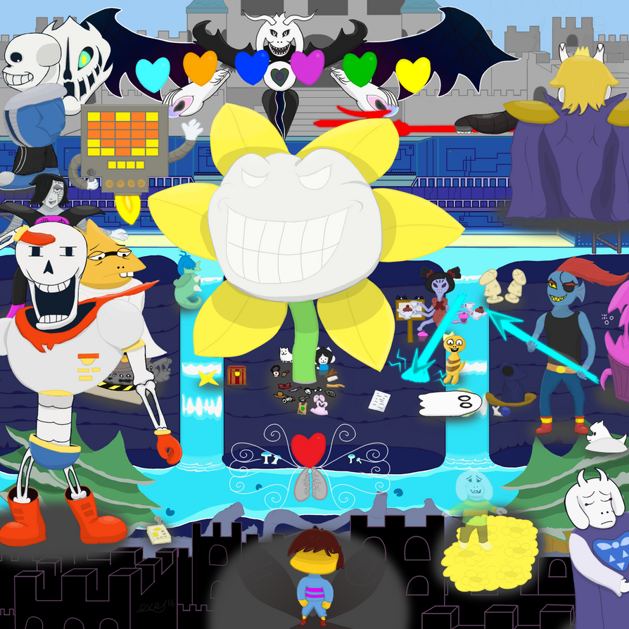 Undertale: Character Mashup (Spoilers Abound!) by ...