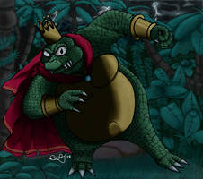 Digital Experiment 067: K.Rool (Color Version)