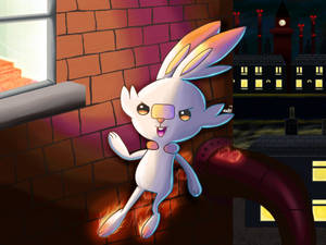 Digital Experiment 071: Scorbunny