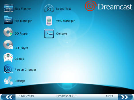 Dreamshell OS Overhaul.