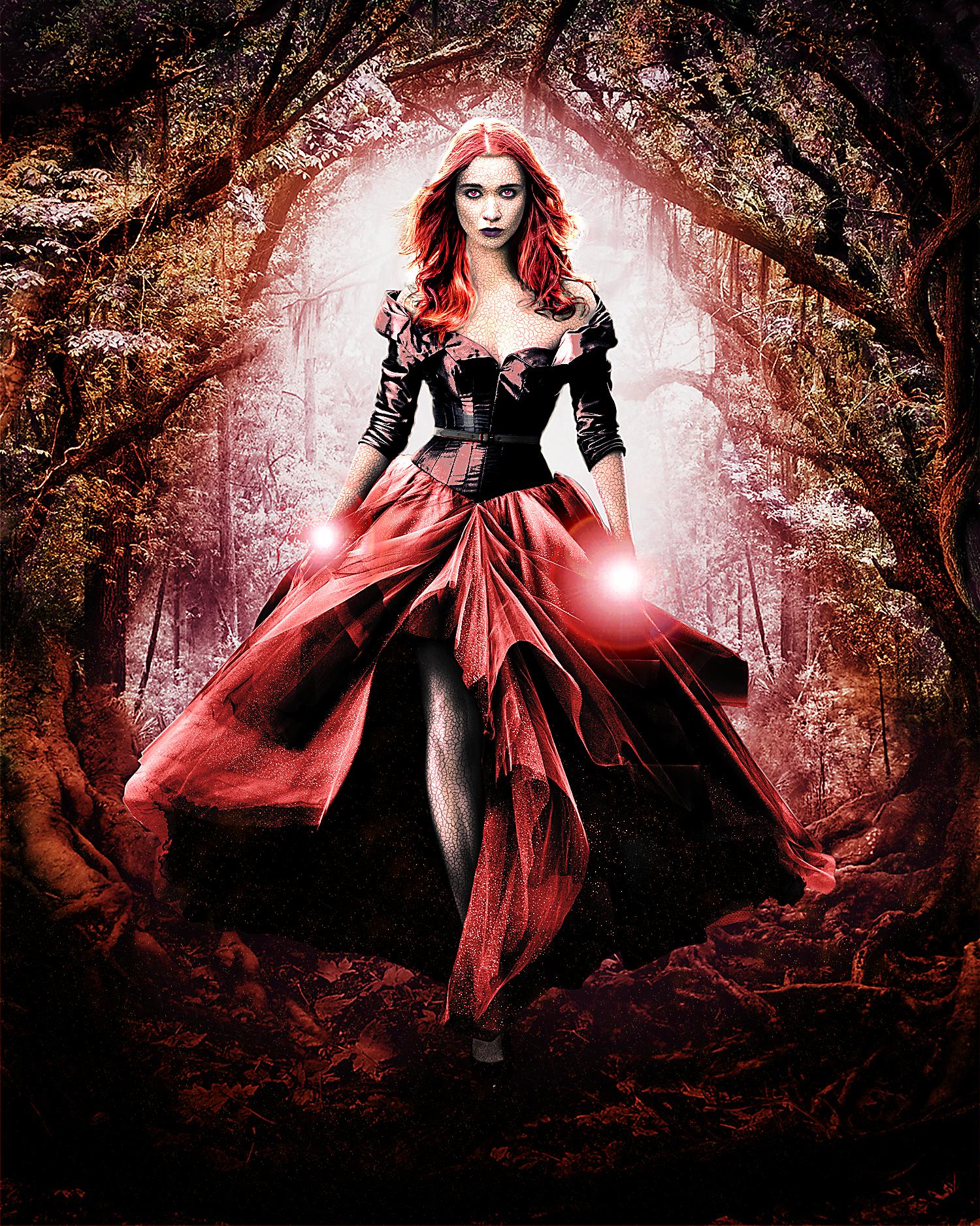 Lena - Dark Caster by Oj4breakfast