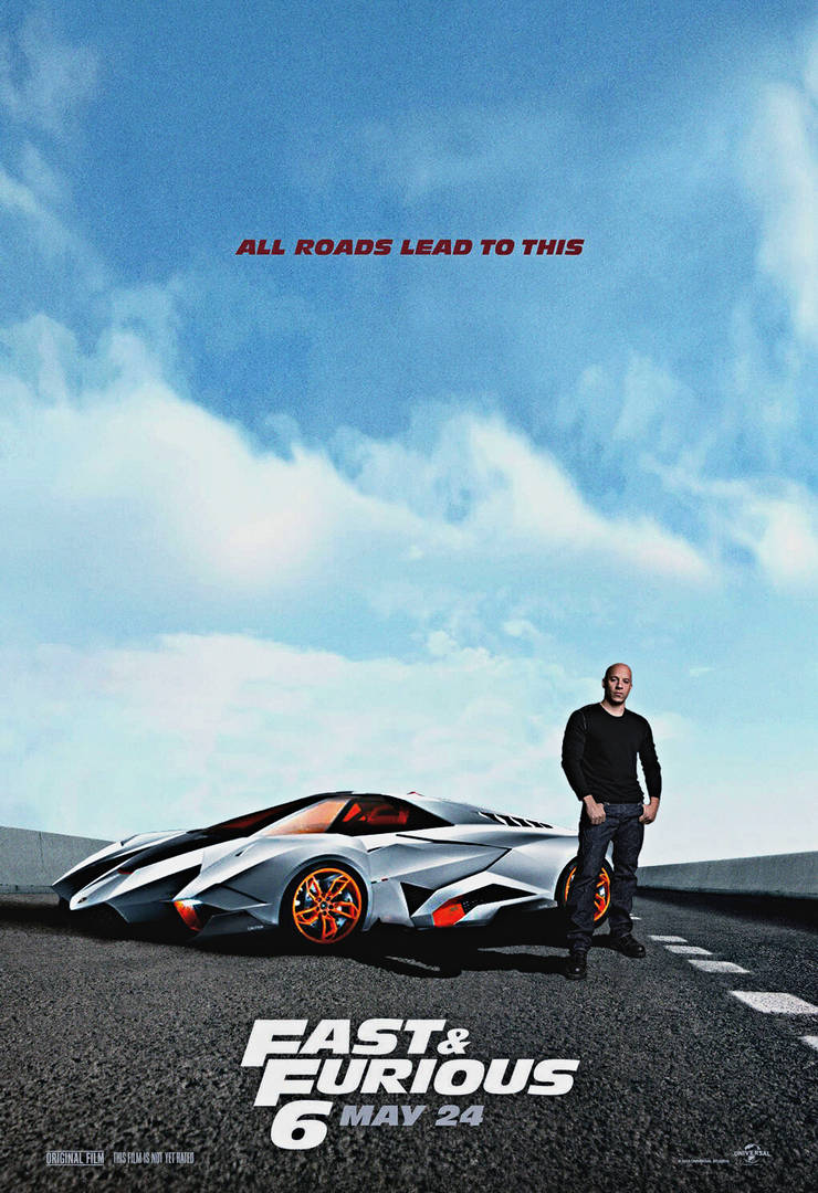 Lamborghini Egoista Fast N Furious 6 By Oj4breakfast On Deviantart
