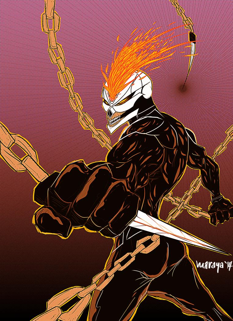 All-New Ghost Rider by Marc Maraya by Oj4breakfast