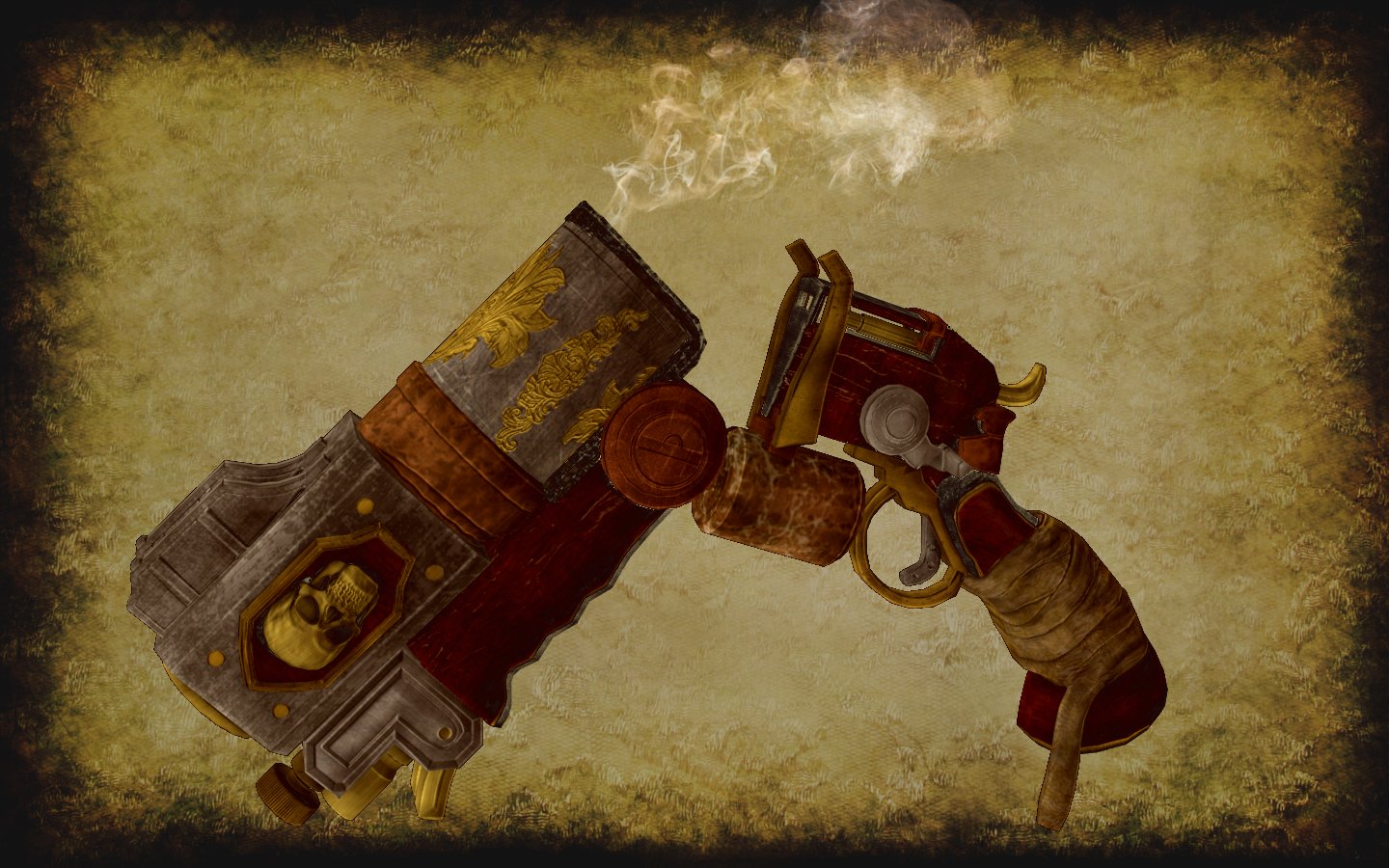 LordParagon SteamPistol Smoke by Saeblundr