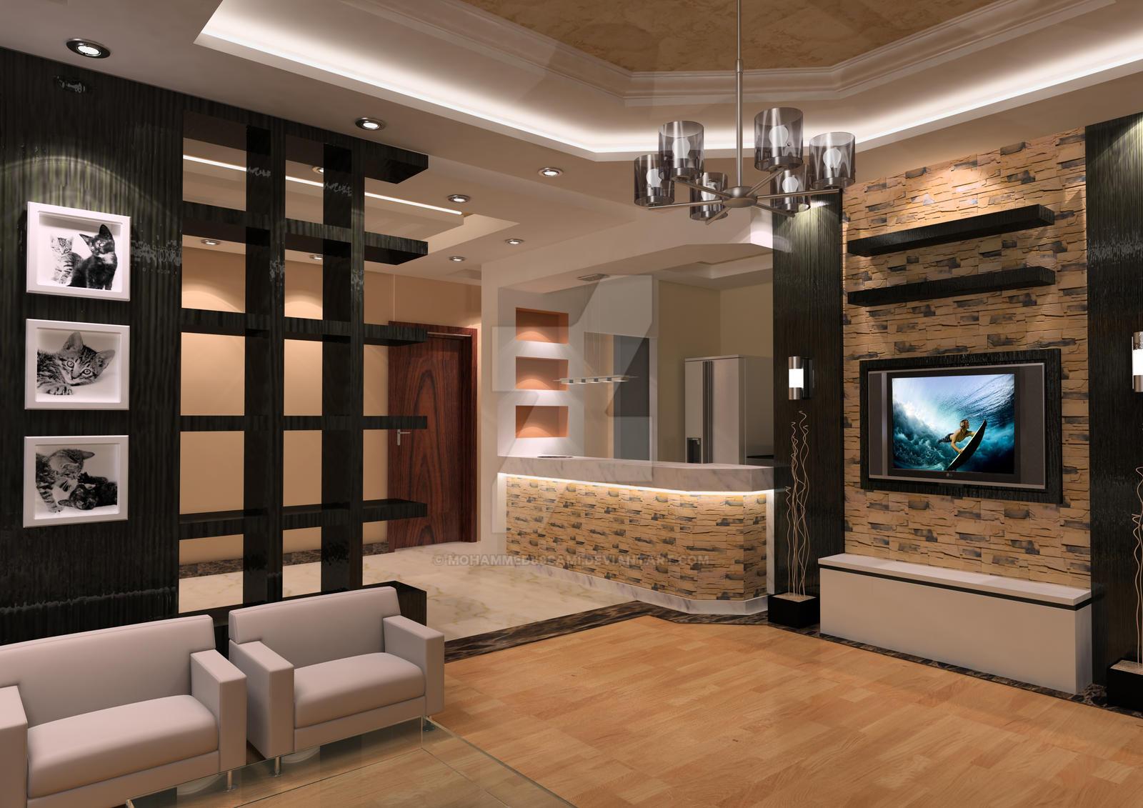 interior house design by mohammed89sami