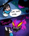 Short comic: I'm a Cheshire cat