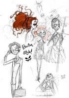 sketchbook page by ayeletshemtov