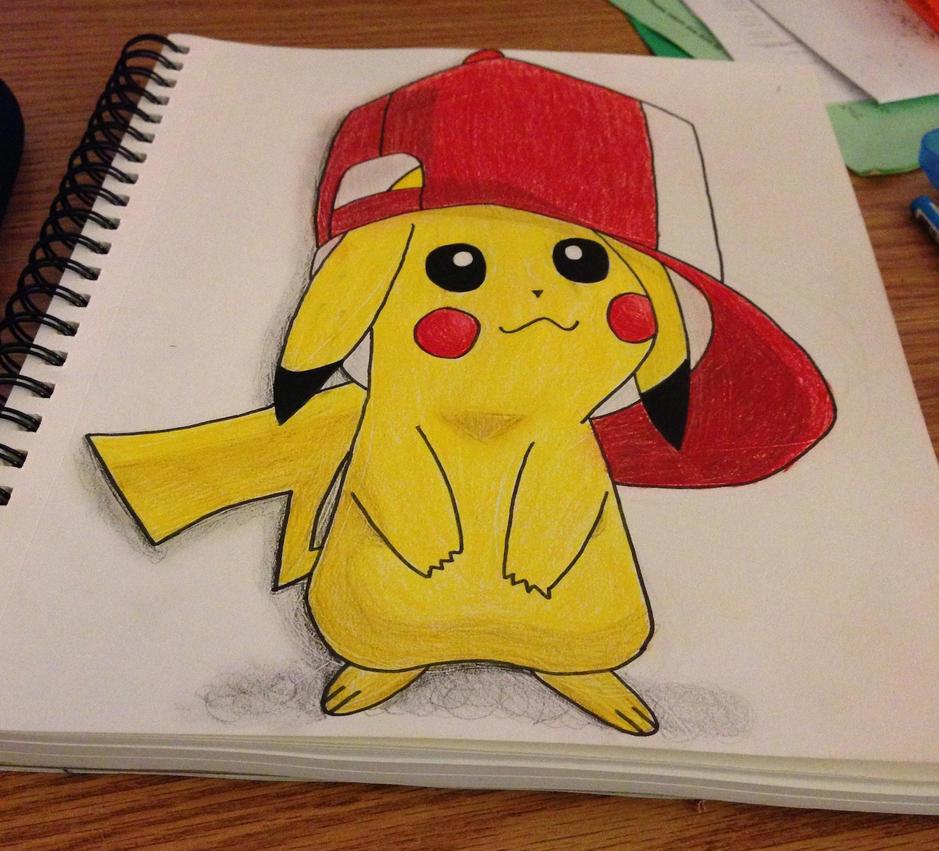 Pikachu 3D Attempt By Savanahbanana