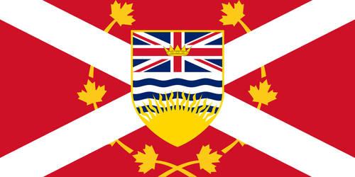 British Columbia Flag (Alternate Version) by MKC7162387