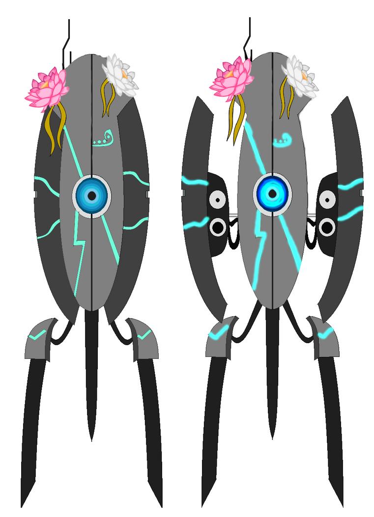 Sentry Turret OC, Lotus by reaperdeathlove