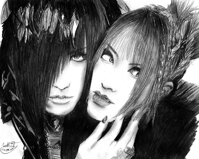 fan-arts Asagi_and_Ruiza_by_Whity85