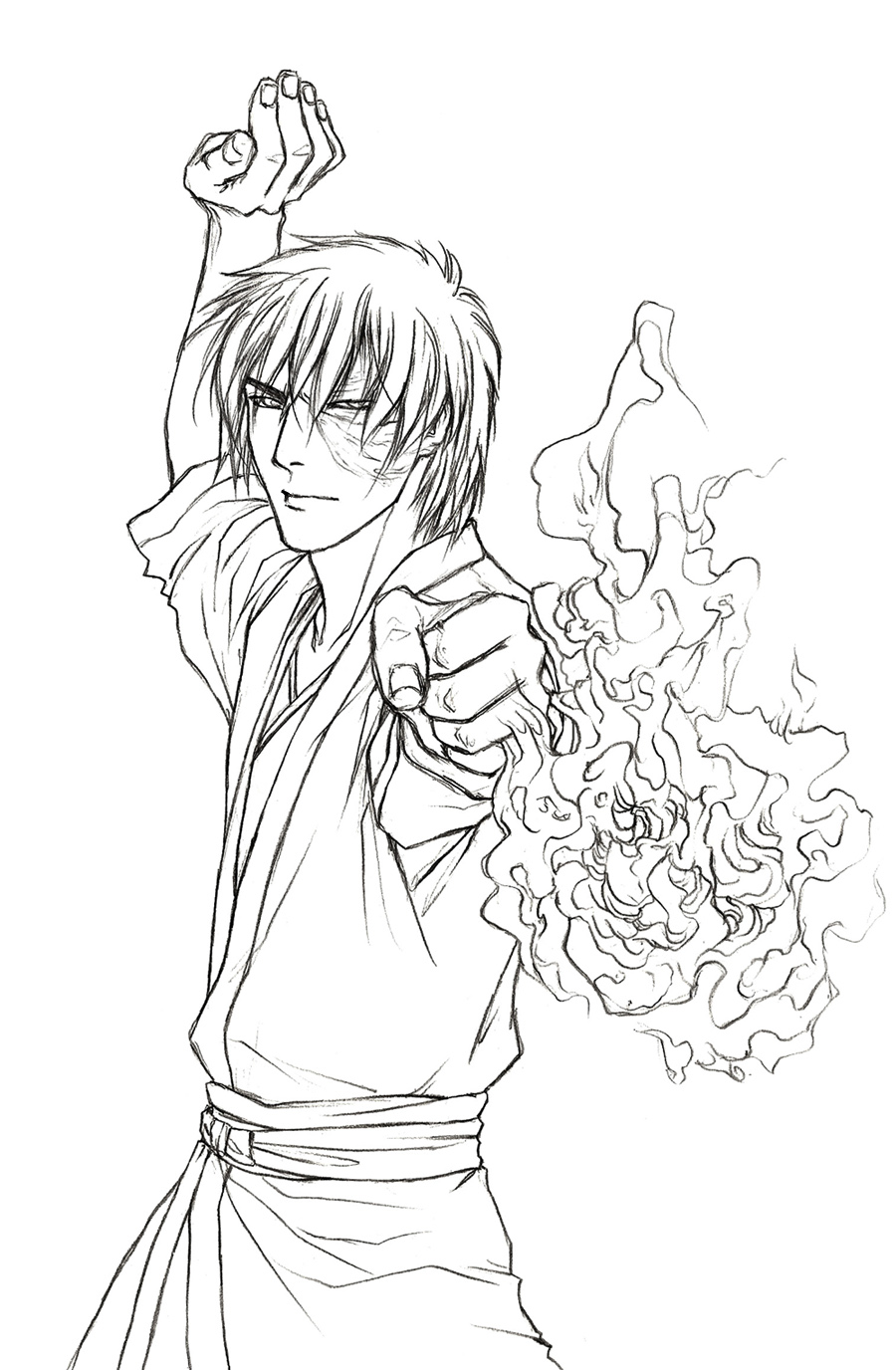 Prince zuko by demon of nirvana on deviantart for Avatar the last airbender coloring pages