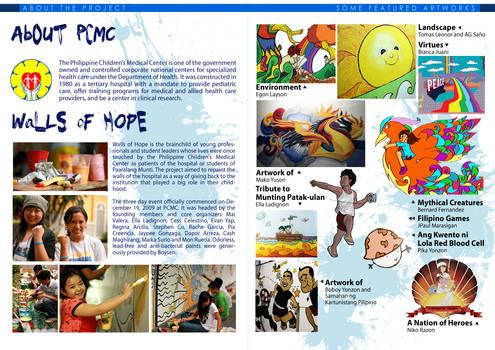 Walls of Hope brochure