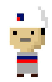 8-bit Petron Employee (2013 version)
