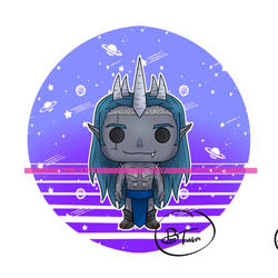 OC Elrynd - Funko Pop Art