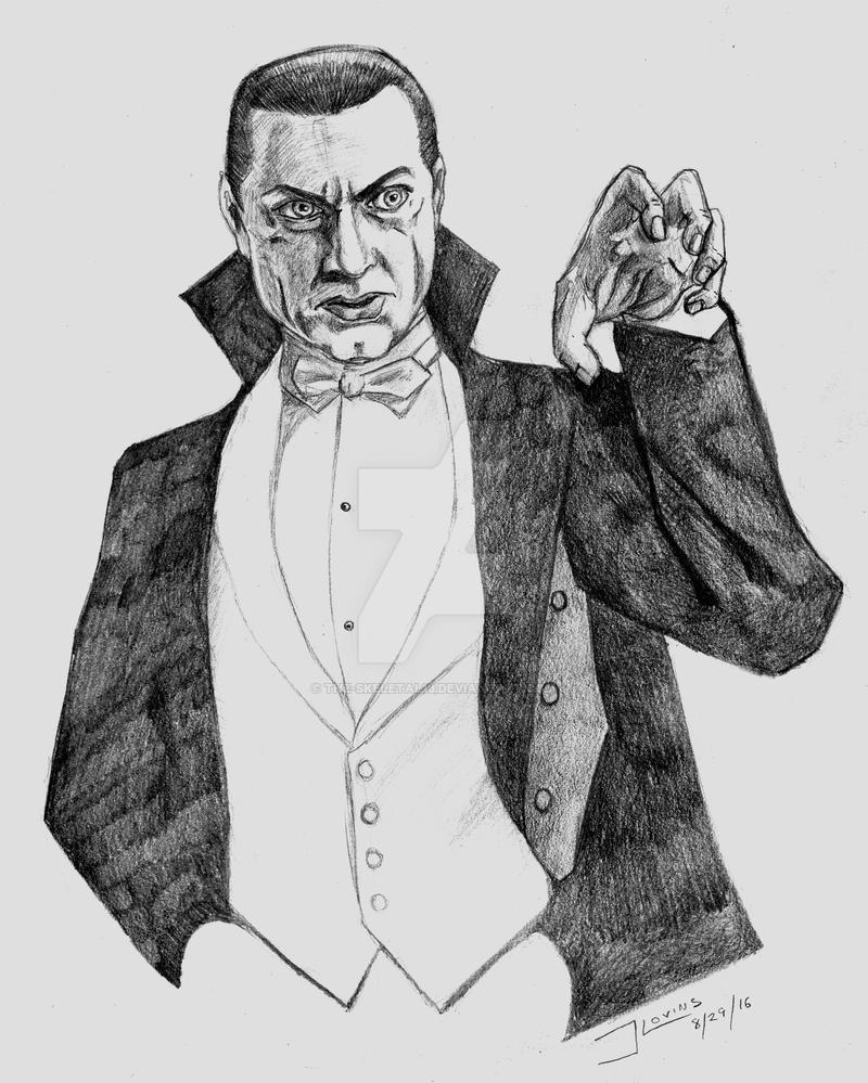 Bela Lugosi as Dracula by the-skeletal13
