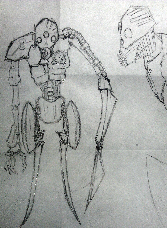 Clockwork Reaper by StyrochRiek