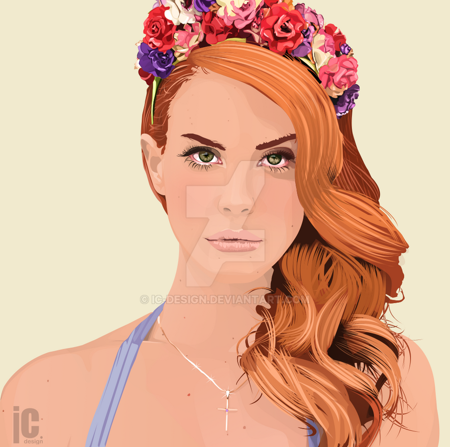 Lana Del Rey by IC-Design