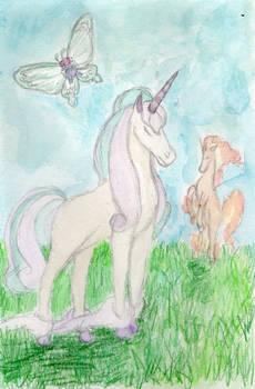 Pokemon - The Last Rapidash (Watercolor)