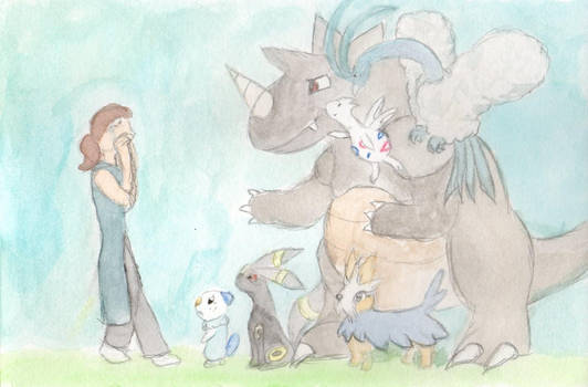 Pokemon - To Honor Those We've Lost (Watercolor)