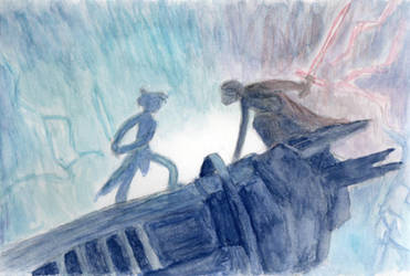 The Rise of Skywalker (Watercolor)