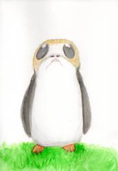 Star Wars - Porg (Watercolor)