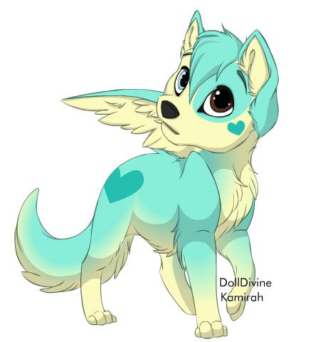 Husky (adopted) by alinoravanity