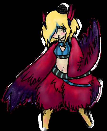 Harpy Mira by alinoravanity
