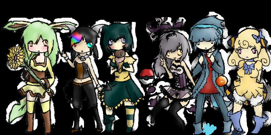My Pokemon Team by alinoravanity