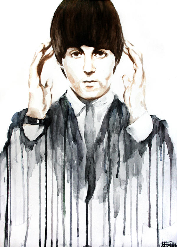 Paul McCartney By GetYourKrayon