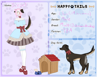 Happy Tails Diesel App by inuhinata