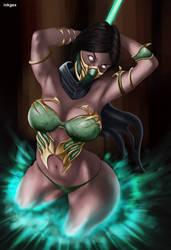 Jade is Back - Mortal Kombat 11 by inkgex