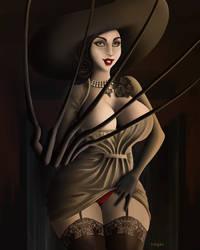 Lady Dimitrescu - Trick or Treat? by inkgex