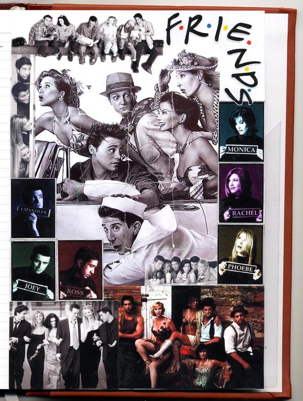 friends collage wallpaper - photo #18