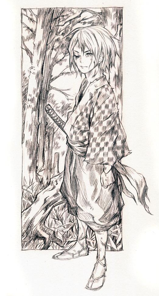fox sketch by tsulala