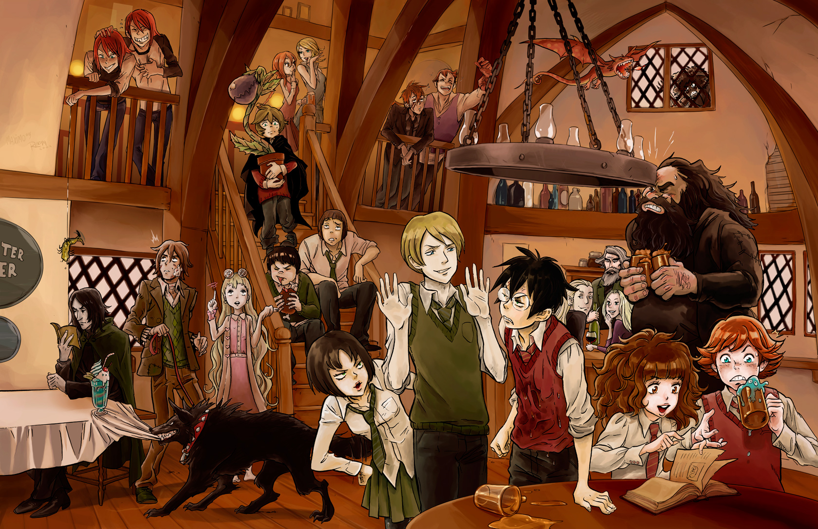 Harry Potter by tsulala