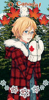 Hetalia Bookmark CANADA by tsulala