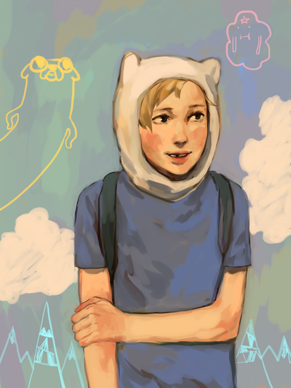 Finn-ger paint by tsulala