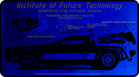 DeLorean Information Card by The-11th-Doctor